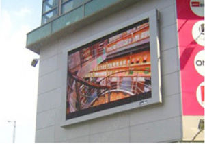 High Brightness P10 Outdoor Advertising LED Display (4X3M, 4X6m, 16X9m) pictures & photos