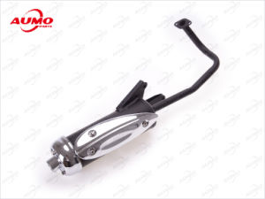 Motorcycle Exhaust Pipe for Gy50 Bt49qt-9 Motorcycle Exhaust Pipe pictures & photos
