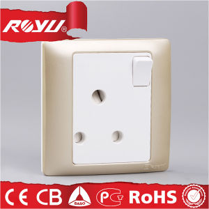 15 AMP Switched Socket, 3 Pin Socket Electrical Power Socket pictures & photos