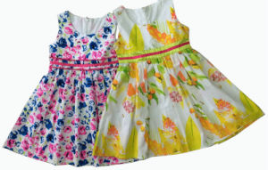 Flower Children Girl Dress in Kids Clothes (SQD-114-115) pictures & photos