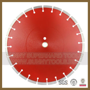 Laser Segment Diamond Saw Blade for Reinforce Concrete pictures & photos