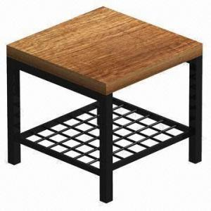 Shoes Trying Stool Furniture with Leather, Made of MDF and Stainless, Various Designs Available pictures & photos