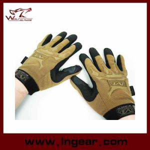 Full Finger Airsoft Tactical M-Pact Style Gloves pictures & photos