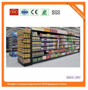 Metal Supermarket Shelf Store Retail Fixture for Angola Market Exhibition Shelf 08153 pictures & photos