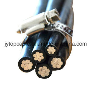 Poly Insulated Aluminum Wire AAC/AAAC Cable for Duplex and Triplex Conductor Aluminium Strands pictures & photos