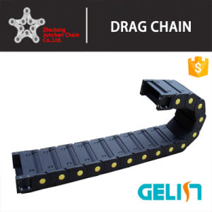 Nylon Engineering Towline Heavy Loading Cable Drag Chain for Cutting Machine pictures & photos