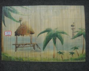 (BC-M1026) Handmade Natural Bamboo Rectangle Heat Insulation Placemat pictures & photos