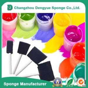 Wonderful Artist Paint Brush Plastic Handle Sponge Brushes pictures & photos