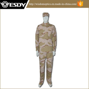 Three Sand Camo Tactical Combat Professional Camouflage Army Uniform pictures & photos