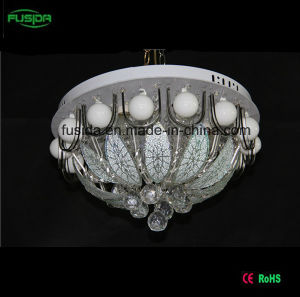 2015 New Design Glass Crystal Ceiling Light 450mm with MP3 and Remove Control for Sale pictures & photos
