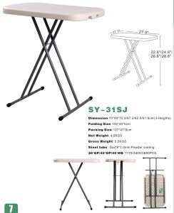 Sy-32sj Plastic Folding Adjustable Laptop Table 2016 pictures & photos