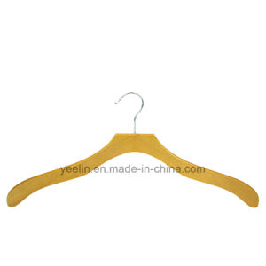 Yeelin Designed Wood Hanger for Normal Clothes pictures & photos