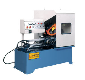 CNC Metal Circular Saw Cutting Machine with Automatic Feeding by Servo Motor pictures & photos
