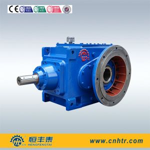 Hft Brand B Series Helical Bevel Right Angle Vertical Flange Gearbox pictures & photos