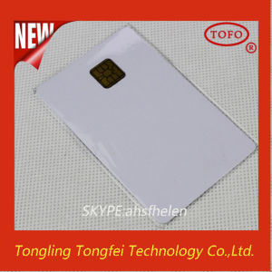 Blank ID Inkjet PVC Card 5528 Smart Chip Card pictures & photos