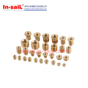 Threaded Inserts for Plastics Brass Insert pictures & photos