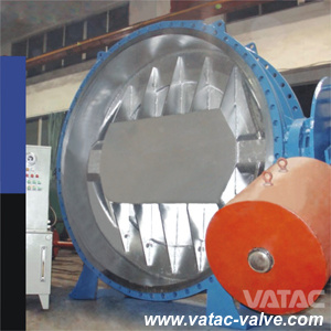 High Performance Counter Weight Flanged Butterfly Valve pictures & photos