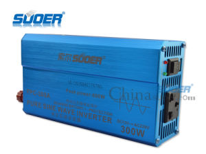 Suoer Frequency Inverter 300W 12V Pure Sine Wave Inverter (FPC-300A) pictures & photos