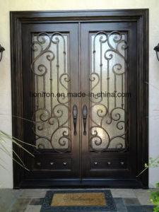 Wholesale Wrought Iron Door for Villa Custom Design pictures & photos