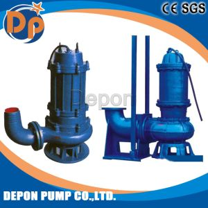 Sewage Submerisble Pump with Cutting Device pictures & photos