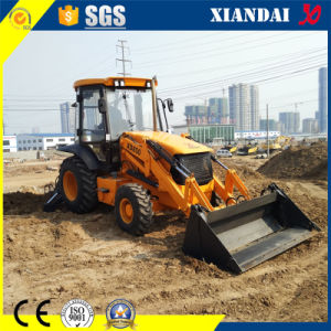 CE Approved Tier II Cummins Engine Backhoe Loader (4WD) Xd850 pictures & photos