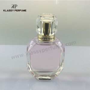 Glass Perfume Bottle with Diamond Acrylic Cap