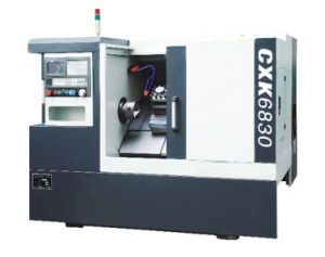 Cxk6830 35 Degree Linear Guide Slant Bed Economy CNC Lathe Machine pictures & photos