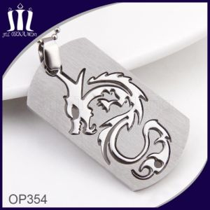 Dragon Shape 2PCS Combine Cut out Pendant pictures & photos
