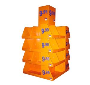 Wholesale Printed Cardboard Promotional Pallet Counter Display Box 46 pictures & photos