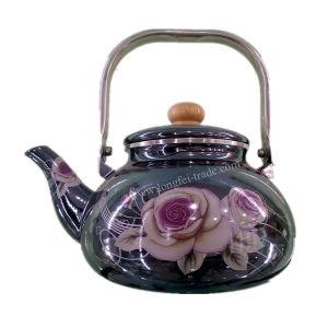 Porcelain Enamel Teapot, Enamel Kettle, Enamelware, Carbon Steel Kettle pictures & photos
