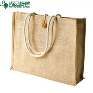 Wholesale High Quality Shopping Bag Jute Bag (TP-SP533) pictures & photos