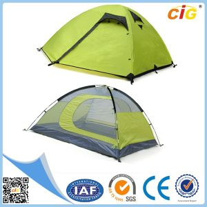 3 Person Double-Layer Waterproof Permanent Tent Outdoor pictures & photos
