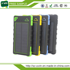 Best Quality 8000mAh Solar Power Bank 8000mAh, Portable Power Bank pictures & photos