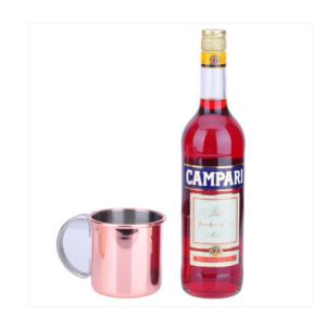 Simple Design Double Wall Stainless Steel Cooper Beer Mug pictures & photos
