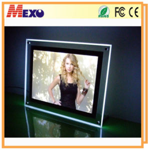 Picture Light Frame LED Backlight Frame Acrylic Sexy Photo Frame pictures & photos