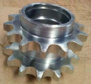 Glavanized Duplex Sprockets for Single Roller Chain pictures & photos