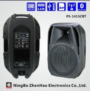 Professional 2 Way USB Active DJ Speaker with Bluetooth (PS-1415BBT) pictures & photos