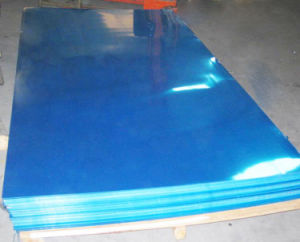 Blue Film Cladding Specular Aluminum Sheet for Lights pictures & photos