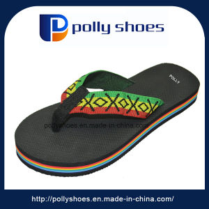 Latest Design Custom EVA Woman Slipper Thick Sole pictures & photos