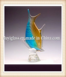 Animal Fish Glass Craft for Display