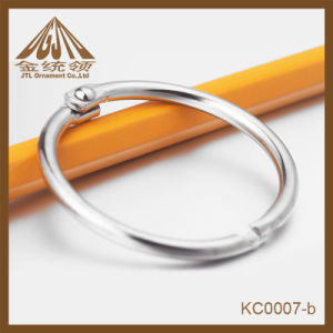 Fashion Hot Sale 32mm Nickel Plated Loose Leaf Rings pictures & photos
