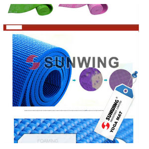 2015 Sunwing Wholesale Yoga Mat Rolls pictures & photos