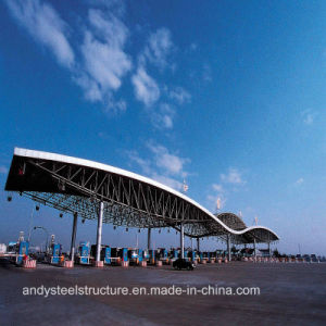 Low Cost and High Quality Space Frame Roofing for Toll Station pictures & photos