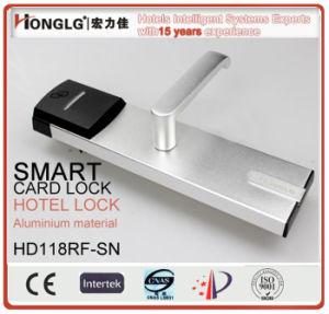 Honglg Aluminum Electronic RFID Hotel Lock pictures & photos