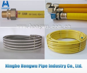 Yellow Coating PVC PE Stainless Steel Flexible Pipe pictures & photos
