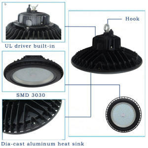 2018 New Product Industrial Lighting 100W 150W 200W Luminaire with 3030 SMD UFO LED High Bay pictures & photos