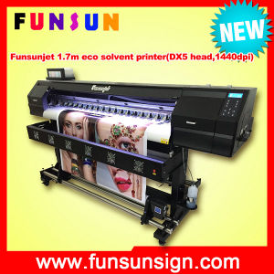 Funsunjet Fs-1802h 1.8m Fast Printer with 2dx5 Head 1440dpi for Stickers (1.7m, 3.2m for banners) pictures & photos