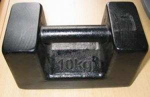 20kg Cast Iron Pattern Weight Weight Test Weight