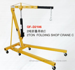 2 Ton Folding Engine Crane pictures & photos