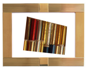 Metallic Heat Transfer Foils for PVC Panel, PS Art Frame, PVC Edges Band and Others pictures & photos